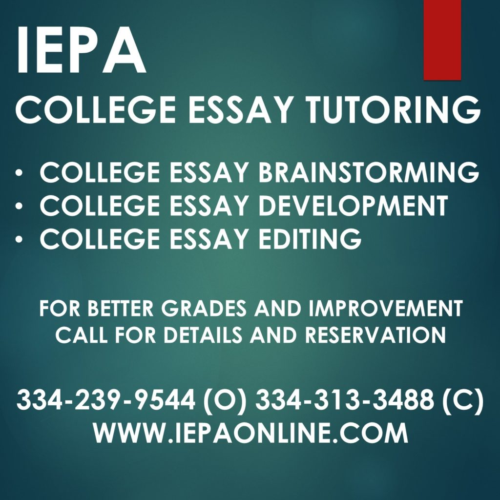essay about tutoring